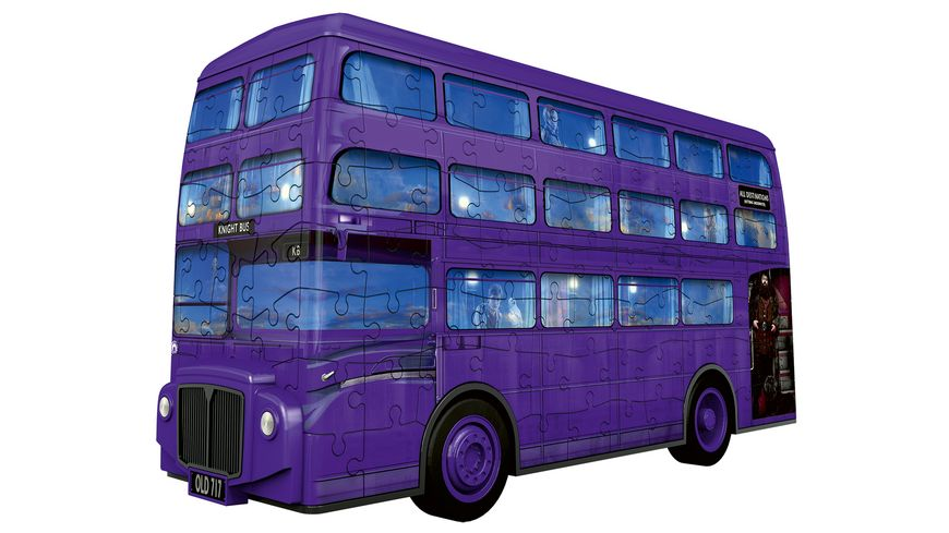 Ravensburger Puzzle 3D Puzzles Knight Bus Harry Potter