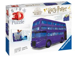 Ravensburger Puzzle 3D Puzzles Knight Bus Harry Potter