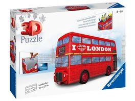 Ravensburger Puzzle 3D Puzzles London Bus