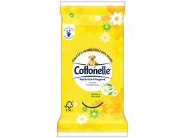 Cottonelle Feucht Toilettenpapier out of home Natuerlich Pflegend Clipstrip