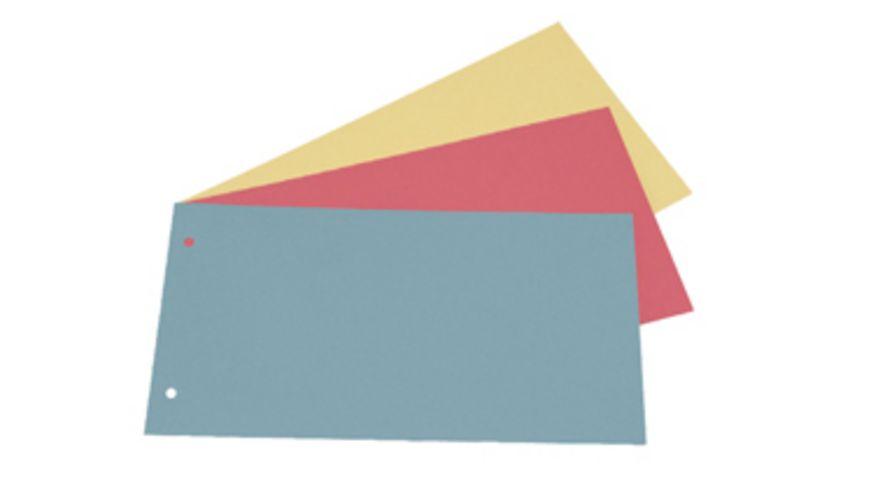 Trennstreifen 100 Stueck farblich sortiert
