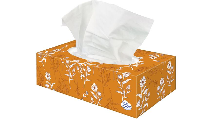 Softstar Taschentücher Balsam Box 4-lagig