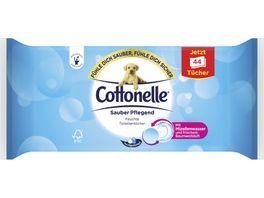 Cottonelle Feucht Toilettenpapier Sauber Pflegend Nachfueller