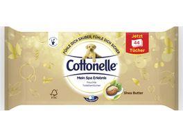 Cottonelle Feucht Toilettenpapier Mein Spa Erlebnis Shea Butter Nachfueller