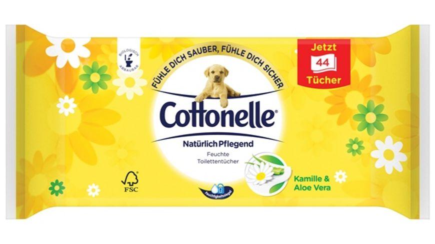 Cottonelle Feucht Toilettenpapier Natuerlich Pflegend Nachfueller