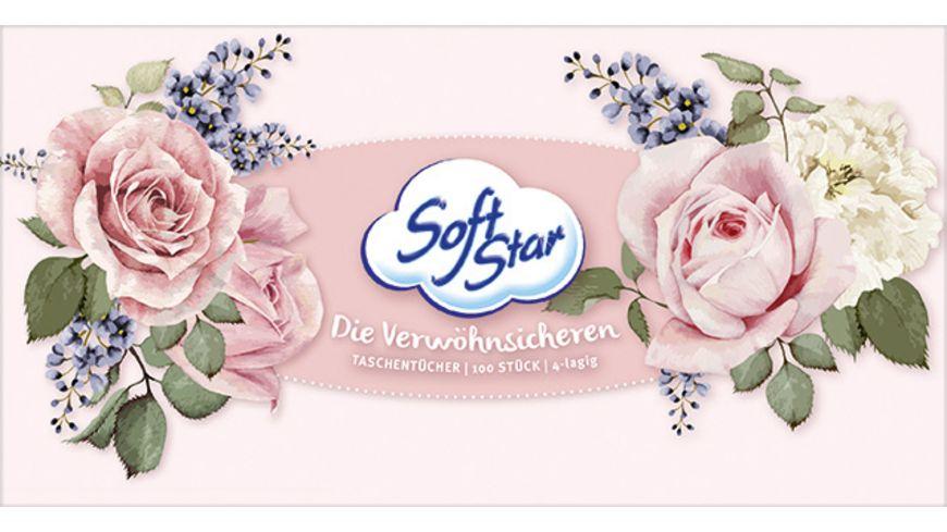Softstar Taschentuecher Box 4 Lagig
