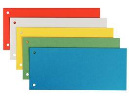 LEITZ Trennstreifen 25 Stueck farblich sortiert