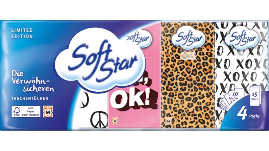Softstar Taschentuecher 15x10 4 Lagig