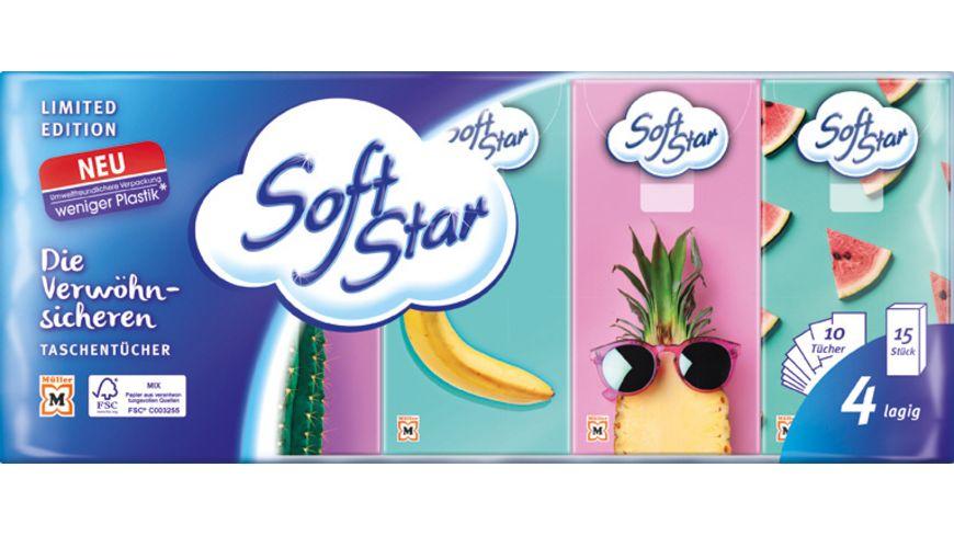 Softstar Taschentücher 15x10 4-Lagig