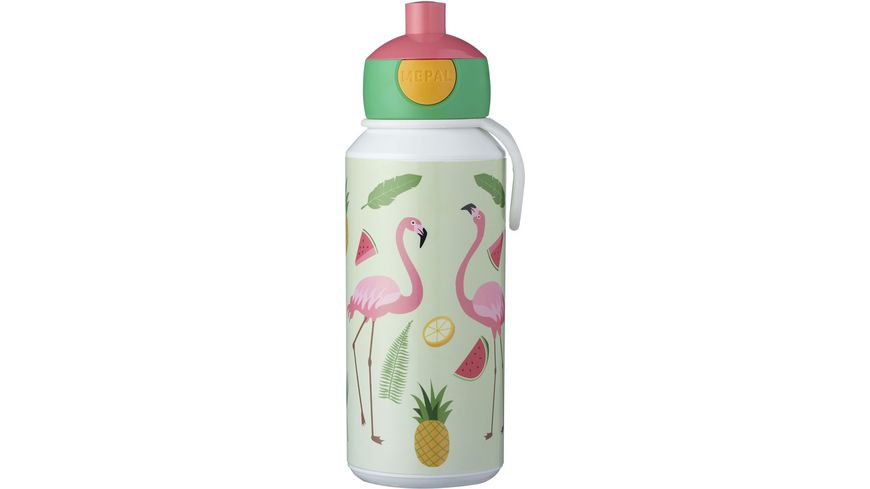 MEPAL Trinkflasche Pop up Campus Tropical Flamingo