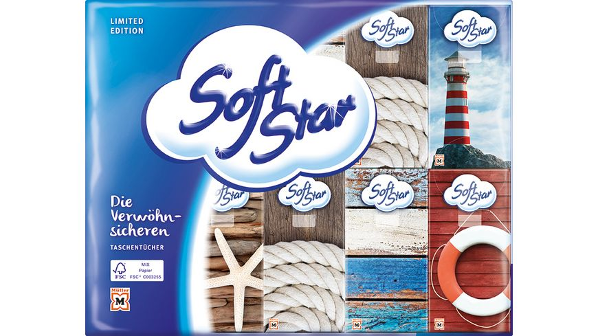 SoftStar Taschentücher 30x10 4-Lagig