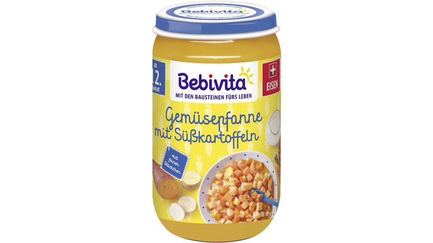 Bebivita Menues ab dem 12 Monat Gemuesepfanne mit Suesskartoffel
