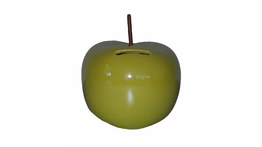 Spardose Apfel