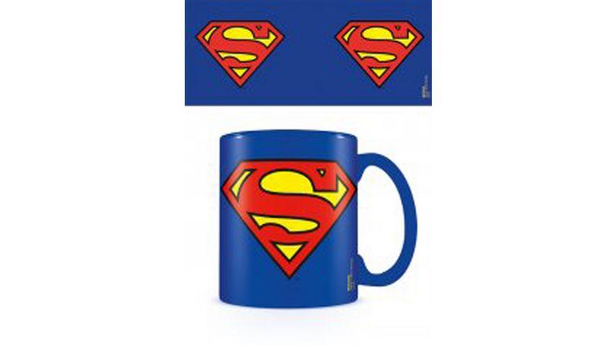 DC Comics - Superman Logo - Keramik Tasse