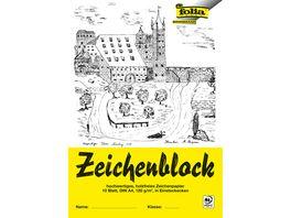 folia Zeichenblock A4 10 lose Blaetter