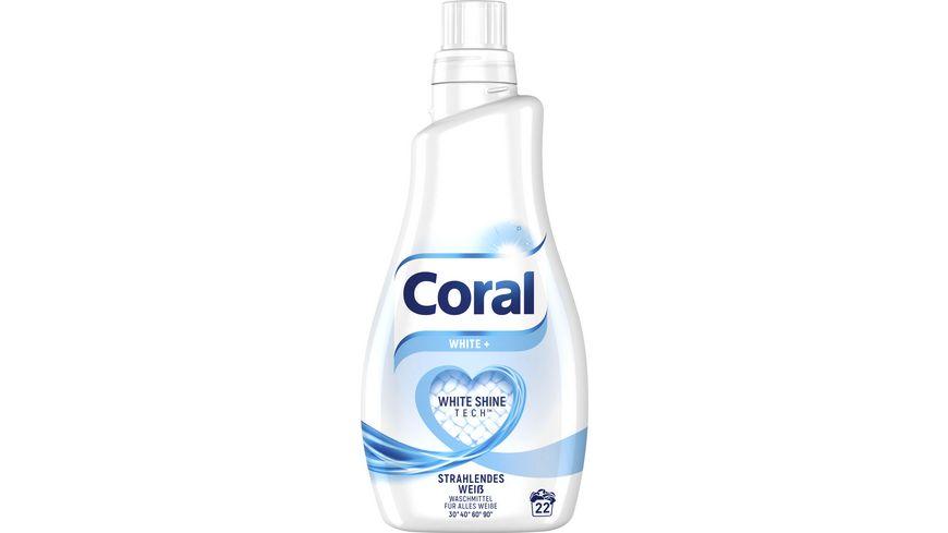 Coral White fluessig 22 WL
