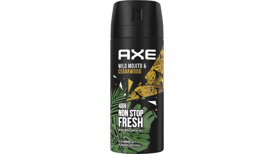 Axe Deospray Wild Green Mojito Cedarwood ohne Aluminiumsalze