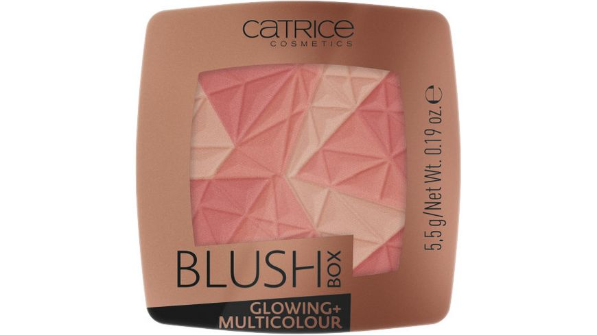 Catrice Rouge Blush Box Glowing Multicolour
