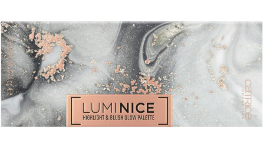 Catrice Highlighter Luminice Highlight Blush Glow Palette