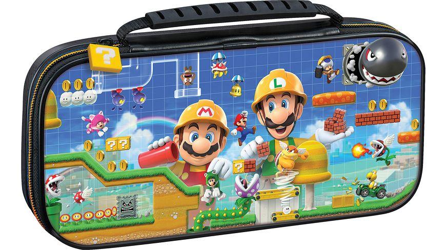 Switch Travel Case Super Mario Maker2 NNS50C Off Liz