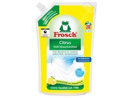 Frosch Citrus Voll Waschmittel