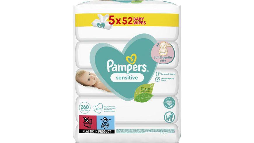 Pampers Feuchte Tücher Sensitive