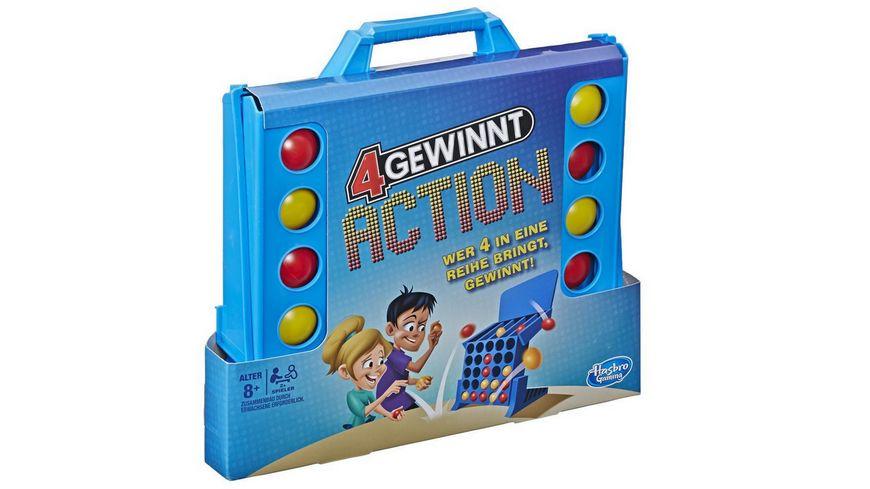 Hasbro 4 gewinnt Action