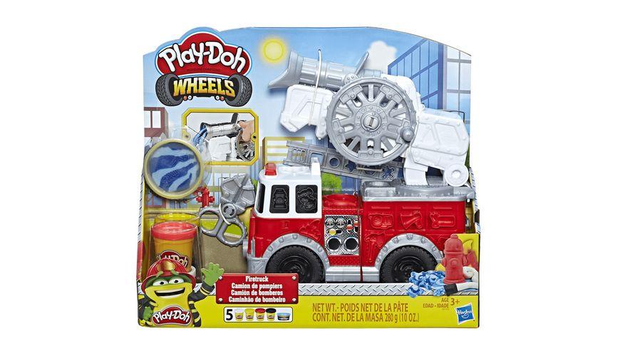 Hasbro Play Doh Wheels Feuerwehrauto