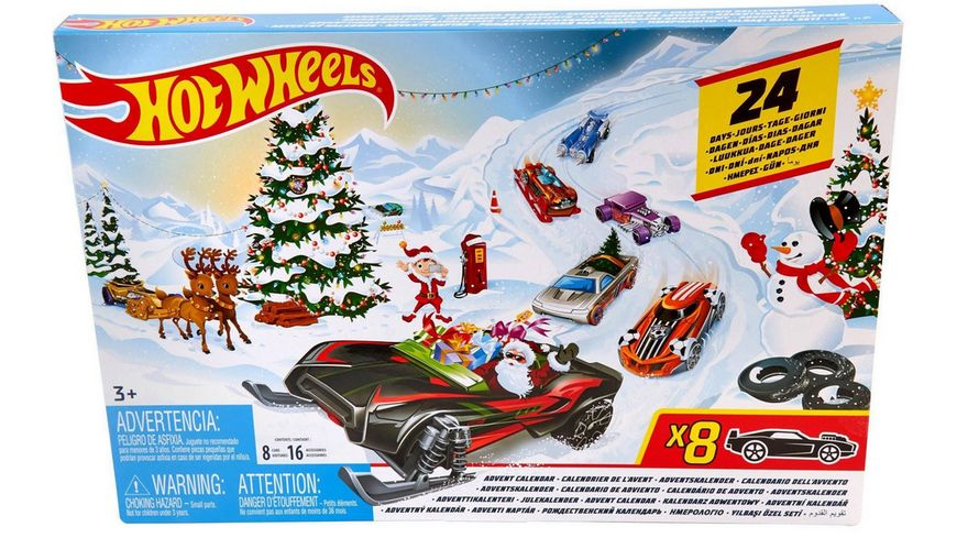 Mattel FYN46 Hot Wheels Adventskalender