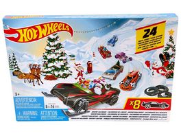 Mattel FYN46 Hot Wheels Adventskalender