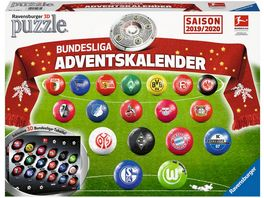 Ravensburger Puzzle 3D Puzzle Ball Bundesliga Adventskalender Saison 2019 2020