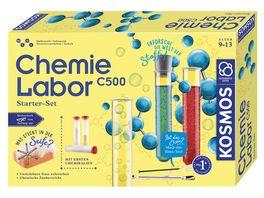 KOSMOS Chemielabor C500 Starter Set Experimentierkasten