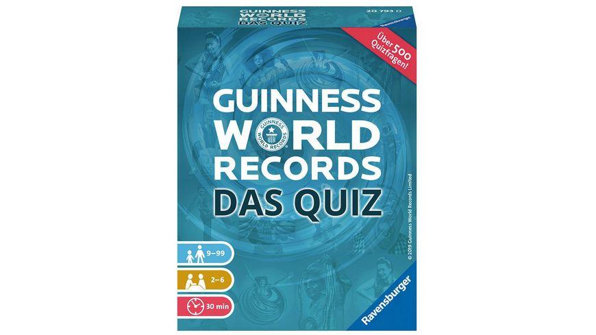 Ravensburger Spiel Guinness World Records Das Quiz
