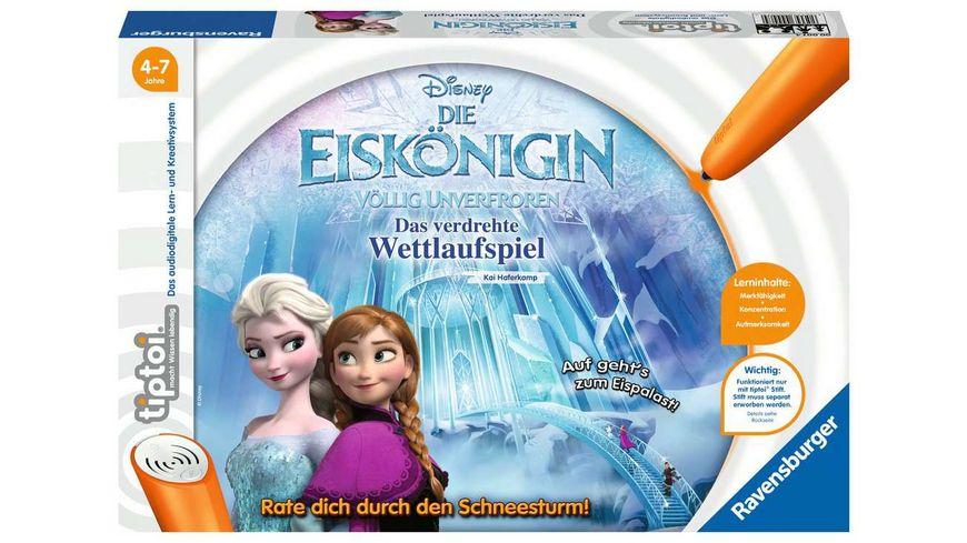 Ravensburger tiptoi Frozen Die Eiskoenigin Voellig Unverfroren Das verdrehte Wettlaufspiel