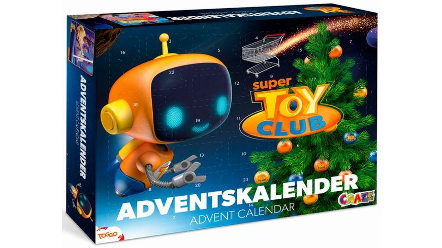 CRAZE Adventskalender Super Toy Club