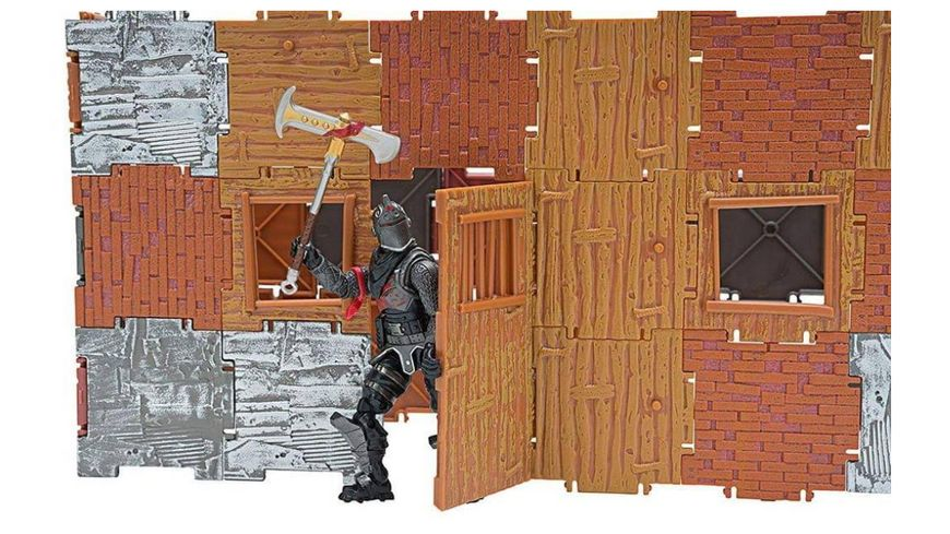 Jazwares Fortnite 1x1 Builder Set Schwarzer Ritter
