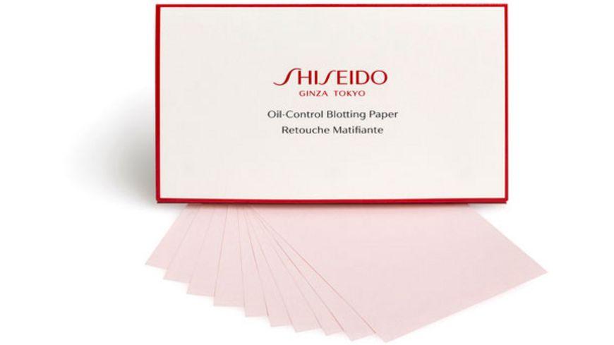 SHISEIDO Oil Control Blotting Paper 100 Stueck