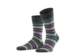 FALKE Herren Socken Tinted Stripe