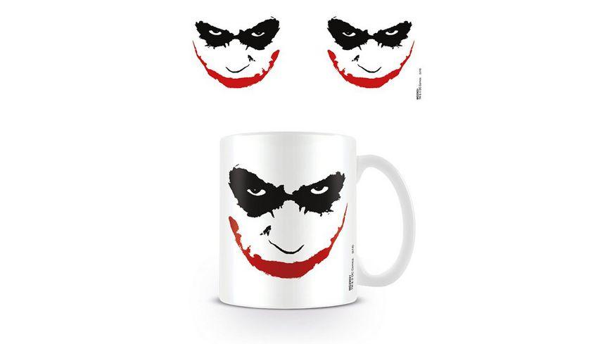 Batman The Dark Knight Joker Face Keramik Tasse