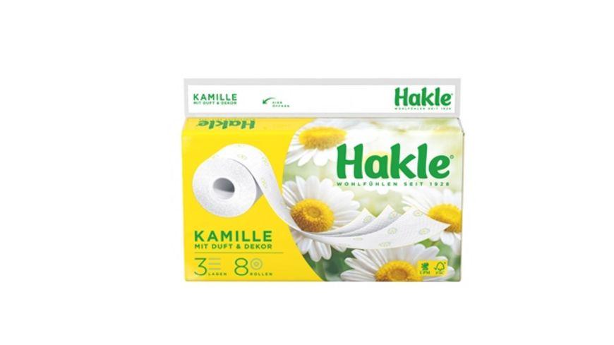 Hakle Toilettenpapier KAMILLE 3 Lagig