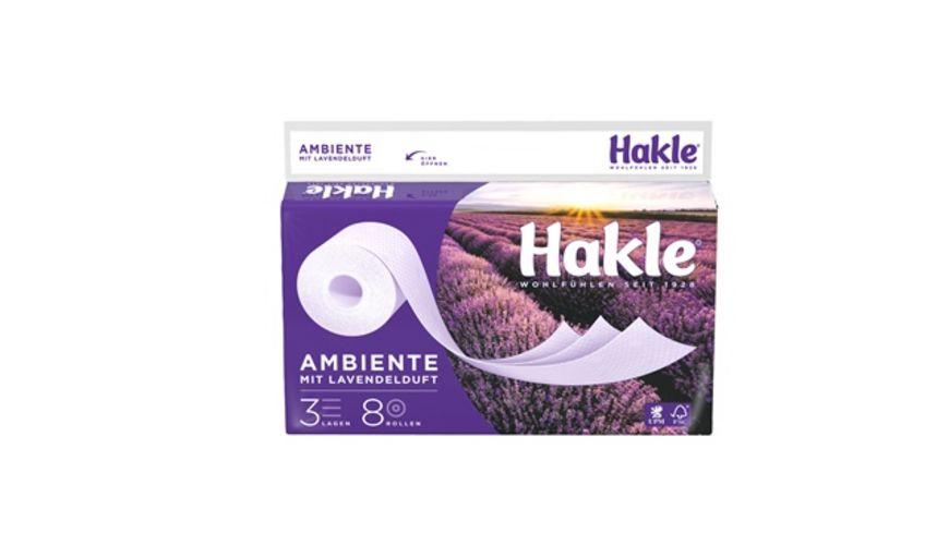 Hakle Toilettenpapier AMBIENTE 3 Lagig