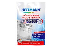 HEITMANN Express Spuelmaschinen Hygiene Reiniger