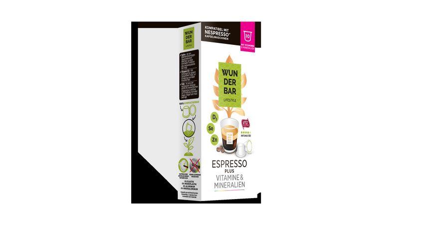 WUNDERBAR Lifestyle Coffee PLUS ESPRESSO