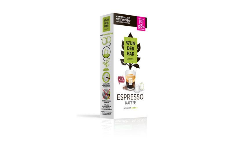 WUNDERBAR Lifestyle Coffee ESPRESSO
