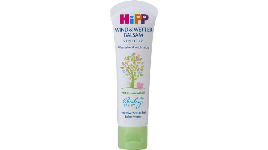 HiPP Babysanft Wind & Wetter Balsam, 30ml