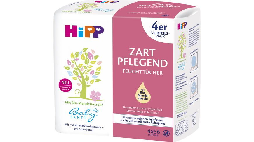 Babysanft Feucht-Tücher mit Parf. 4x56