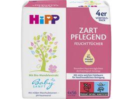 HiPP Babysanft Feuchttuecher Zart Pflegend