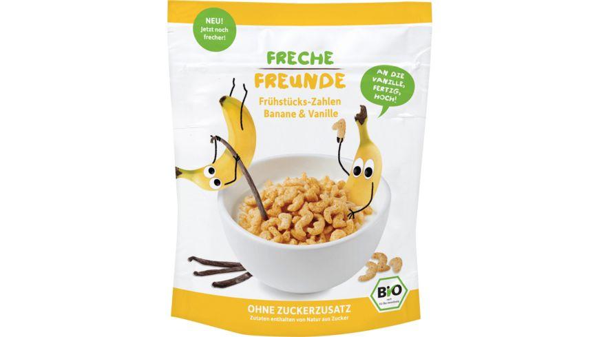 Freche Freunde Bio Frühstücks-Zahlen Banane & Vanille 125g