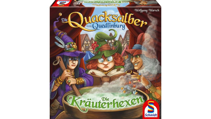 Schmidt Spiele Die Quacksalber von Quedlinburg Die Kraeuterhexen Erweiterung