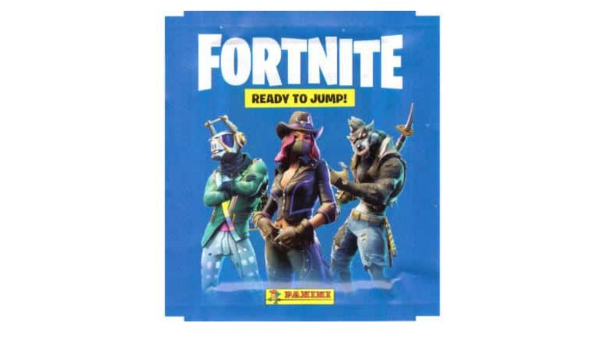Panini Fortnite Sammelsticker Booster